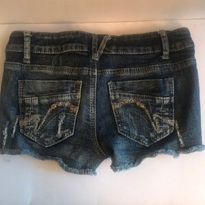 Mossimo Supply Co. Shorts - Mossimo Supply Co Denim and Lace Shorts